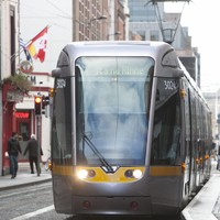 Woman dies after being hit by Luas tram