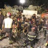 Eight bodies pulled from collapsed apartment block near Naples