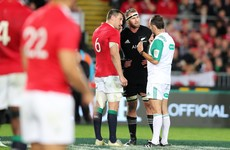 The massive Romain Poite call that decided the Lions v All Blacks series