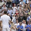 Roger Federer's bid to become the oldest ever Wimbledon champion is still on track