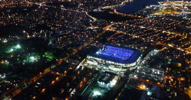 Last night's Coldplay gig looked spectacular from the air