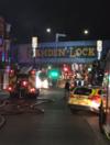 Huge fire in London's iconic Camden Lock Market
