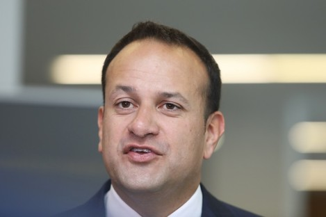 Leo Varadkar, who wants to use money that was to go into the rainy day fund for infrastructure.