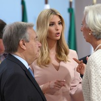 Trump joins Angela Merkel in defending Ivanka's presence at G20 summit