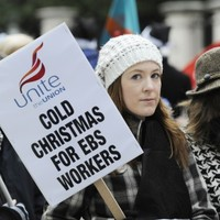 EBS workers vote to end '13th month' strike action