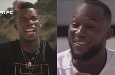New teammates Pogba and Lukaku air it out in one-on-one interview