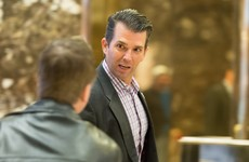 Trump says Donald Jr is a 'high quality person' and applauds his 'transparency' on Russian meeting