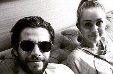 Liam Hemsworth posted a gas photo of Miley Cyrus and her reaction was extremely relatable