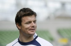 O'Driscoll loses race to regain fitness for Wembley
