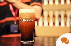 'Good writing is like a pint of Guinness – you have to let it settle'