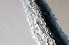 A trillion-tonne iceberg has snapped off west Antarctica