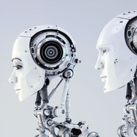Two robots casually debated the future of humans in Hong Kong this week