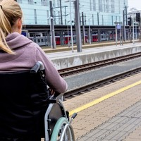 'I was driven to tears': Wheelchair user forced to wait on Dart for 15 minutes for help to get off train