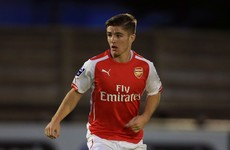 Former Irish underage international leaves Arsenal in search of first team football