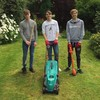Three Galway students have set up a free grass cutting service for people who need the help