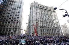 In pictures: New York hails returning Super Bowl heroes