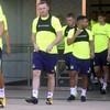 Wayne Rooney has just scored a fine long-range effort on his (second) Everton debut