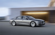 The new Audi A8 high-tech saloon can drive itself (up to a certain speed, anyway)