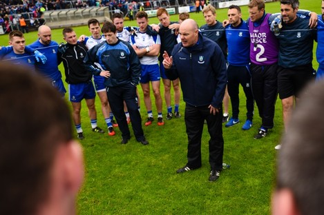 Malachy O'Rourke leads Monaghan into battle on Saturday.