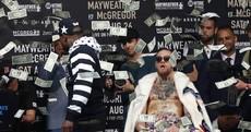 'I'm half-black' - Mayweather and McGregor take trash-talk tour to New York