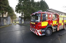 Investigation into fire at vacant shopping centre in Naas