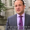 Leo Varadkar gave a shout out to Rubberbandits in his weekly address for giving him advice on 'sound quality'