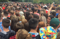 Reports of festival goers 'getting crushed' in massive queues on the way in to Longitude
