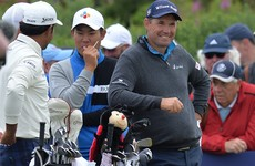 Pádraig Harrington leads Scottish Open as McIlroy's woes continue