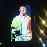 'Dublin has a special place in my heart': Stormzy wore the tricolour and gave it socks on stage at Longitude