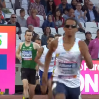 Michael McKillop wins 800m heat at World Para Athletics Championships in bizarre circumstances