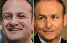 Micheál Martin is well ahead of Leo Varadkar in the satisfaction ratings