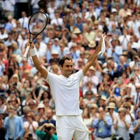 Irrepressible Federer outclasses teary Cilic to make Wimbledon history