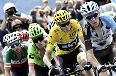 'Stressful' Chris Froome survives broken wheel to retain yellow jersey as Mollema takes 15th stage