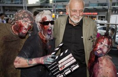 George A Romero, the man who made zombie films popular, has died