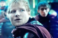 Ed Sheeran made a surprise cameo as a singing soldier on last night's Game of Thrones