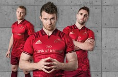 Munster today unveiled a stunning new red and gold home jersey for the 2017/18 season