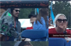 Saoirse Ronan and Hozier were spotted hanging out together at Longitude... it's The Dredge