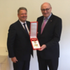 Ireland's Phil Hogan has been presented with a medal of honour by the Republic of Austria