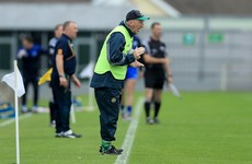 Ryan steps down as Offaly hurling boss and says it would have been 'divisive' to stay on