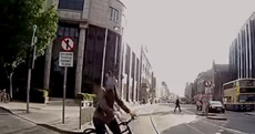 Video: Luas releases footage of near misses with cyclists