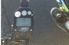 Driver to face court after gardaí clock car travelling at over 190 km/h