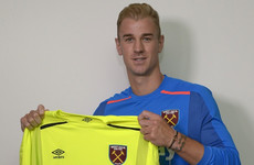 Joe Hart looks to resurrect career after sealing loan move to West Ham