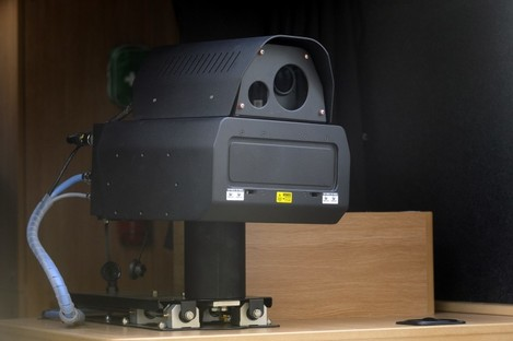One of the new speed cameras