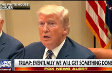 Everyone is ripping the piss out of Trump's 'eventually we will get something done' slogan