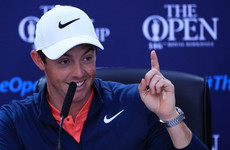 'It's a good time to back me' - McIlroy tips 20/1 shot McIlroy for Open win