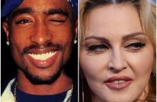 Court blocks auction of Madonna's underwear and love letter from her ex-boyfriend Tupac