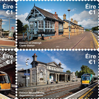 Four lovely train stations feature on our new stamps