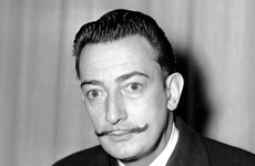 Decades after his death, Salvador Dali's iconic moustache is still perfectly intact