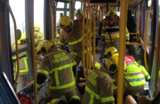 'No need for panic': Dublin Fire Brigade simulate 'active shooter' on Luas to train paramedics
