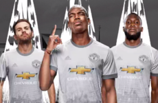 Man United launch new fan-designed grey third kit for 2017/18 season
